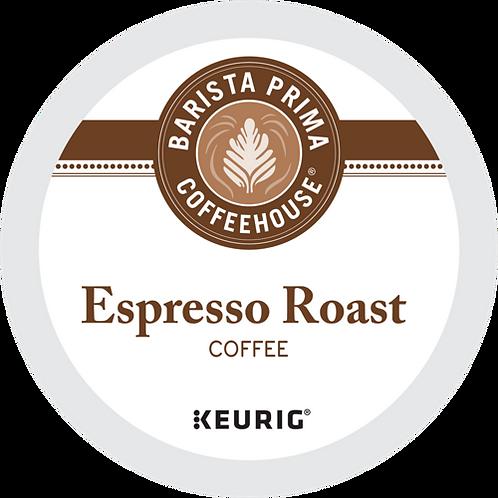 Barista Prima® Espresso Roast Coffee - K-Cup® - Regular - Dark Roast - 18ct