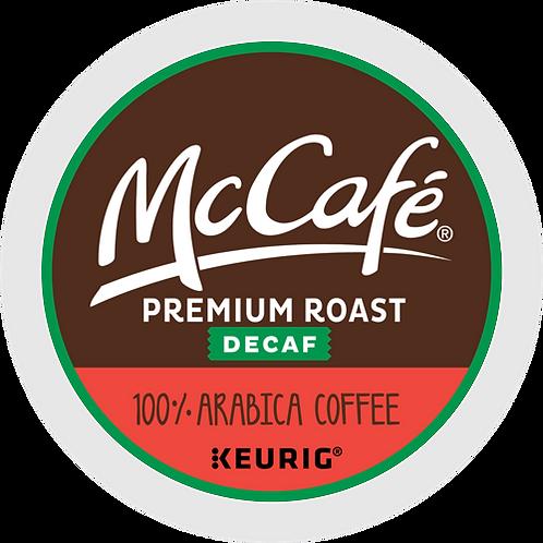 McCafe® Premium Roast Decaf Coffee - K-Cup® - Decaf - 24ct