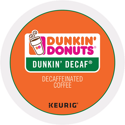 Dunkin' Donuts® Dunkin' Decaf® Coffee - K-Cup® - Decaf - Med Roast - 24ct
