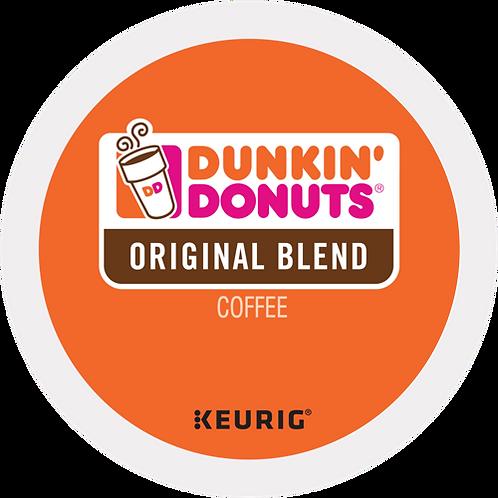 Dunkin' Donuts® Original Blend Coffee - K-Cup® - Regular - Med Roast - 6ct