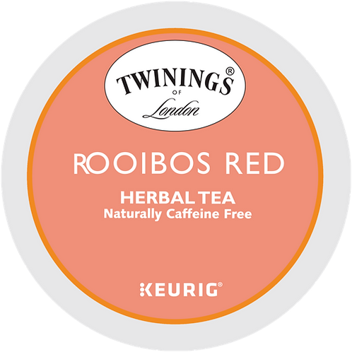 Twinings® Pure Rooibos Red Tea - K-Cup® - Decaf - 24ct