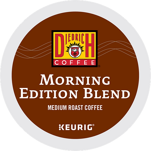 Diedrich Morning Edition Blend® Coffee - K-Cup® - Regular - Med Roast - 24ct