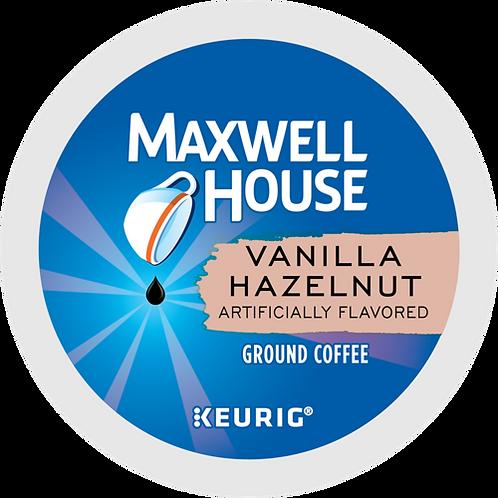Maxwell House® Vanilla Hazelnut Coffee - K-Cup® - Regular - 24ct