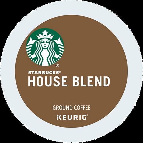 Starbucks® House Blend Coffee - K-Cup® - Regular - Med Roast - 24ct