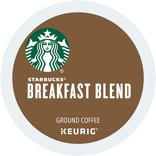 Starbucks® Breakfast Blend Coffee - K-Cup® - Regular - Med Roast - 16ct