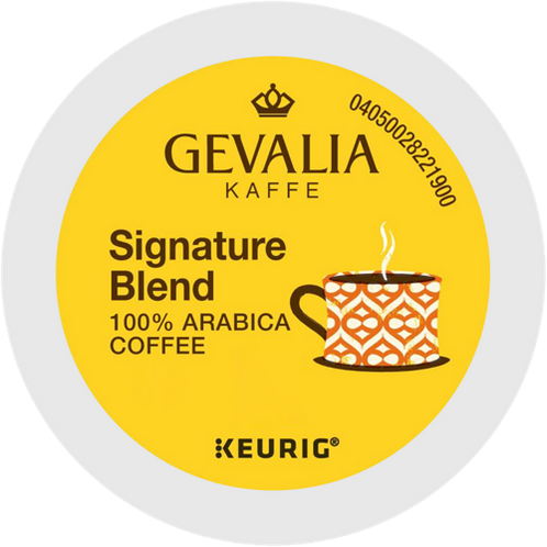 Gevalia Kaffe® Signature Blend Coffee - K-Cup® - Regular - LT Roast - 6ct