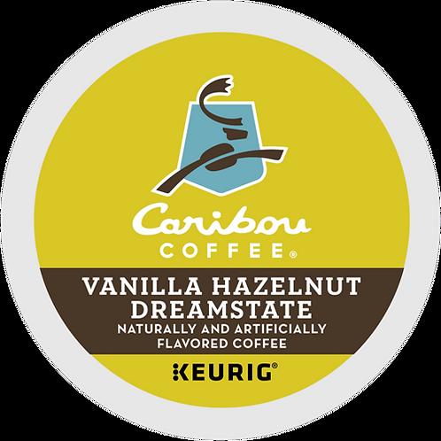 Caribou Vanilla Hazelnut Dreamstate Coffee - K-Cup® - Regular - Med Roast - 24ct