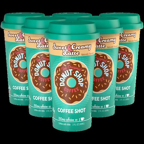 Donut Shop® Sweet & Creamy Latte Coffee Shot - Coffee Shots - Regular - 6ct