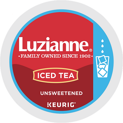 Luzianne® Unsweetened Iced Tea - K-Cup® - Regular - Black Tea - 12ct