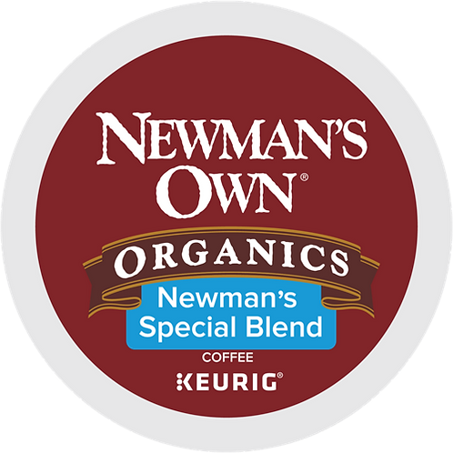 Newmans Own Special Blend Extra Bold Coffee - KCup® - Regular - Med Roast - 24ct