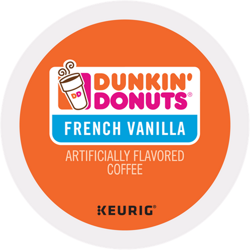 Dunkin' Donuts® French Vanilla Coffee - K-Cup® - Regular - Med Roast - 24ct
