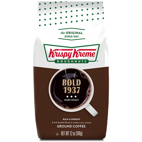 Krispy Kreme® Doughnut Bold 1937 Coffee - Bagged - Regular - 12oz Ground