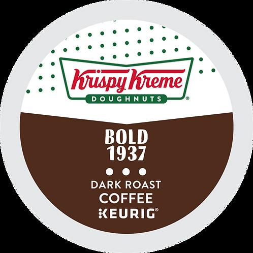 Krispy Kreme® Doughnut Bold 1937 Coffee - K-Cup® - Regular - 24ct