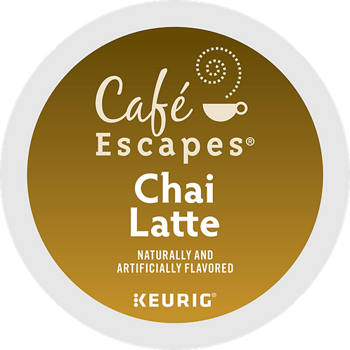 Café Escapes® Chai Latté - K-Cup® - Black Tea - 24ct