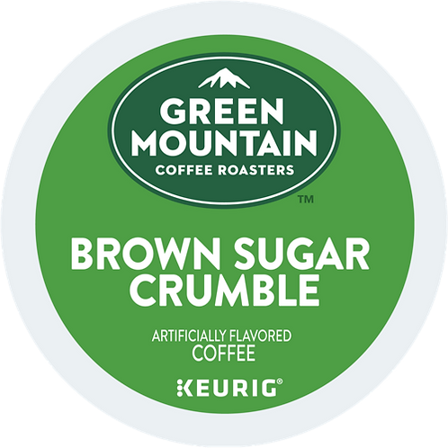 Green Mountain® Brown Sugar Crumble™ Coffee - K-Cup® - Regular - LT Roast - 18ct