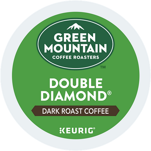 Green Mountain® Double Diamond® Coffee - K-Cup® - Regular - Dark Roast - 24ct