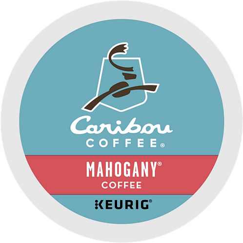 Caribou® Mahogany® Coffee - K-Cup® - Regular - Dark Roast - 24ct