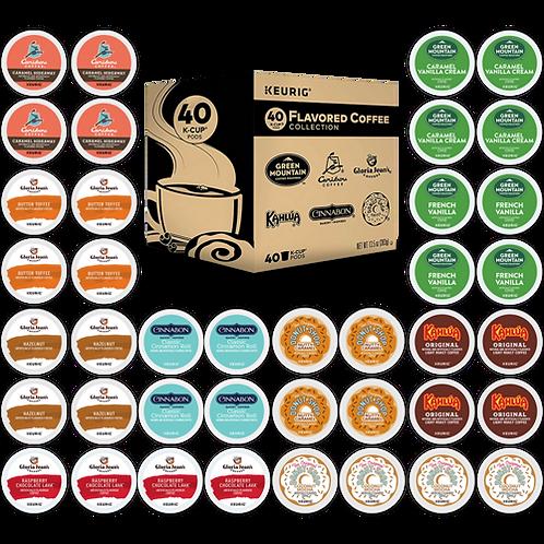 Keurig® Flavored Coffee Collection Variety Pack - K-Cup® - Regular - 40ct