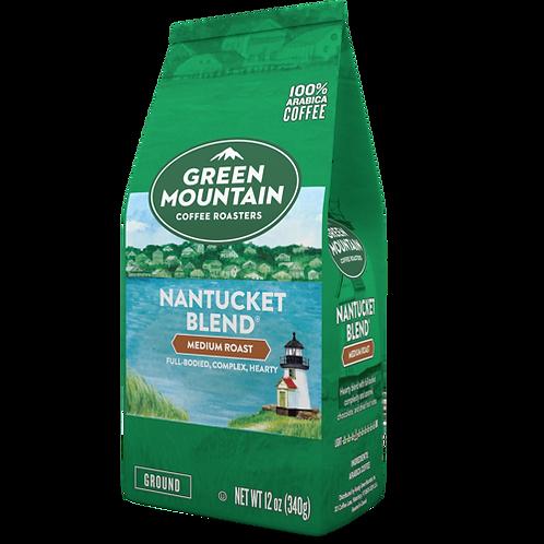 Green Mountain Nantucket Blend® Coffee - Bag - Regular - Med Roast - 12oz Ground