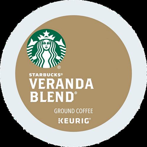 Starbucks® Veranda Blend® Coffee - K-Cup® - Regular - LT Roast - 24ct