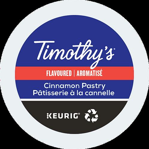 Timothy's® Cinnamon Pastry Coffee - K-Cup® - Regular - Med Roast - 24ct