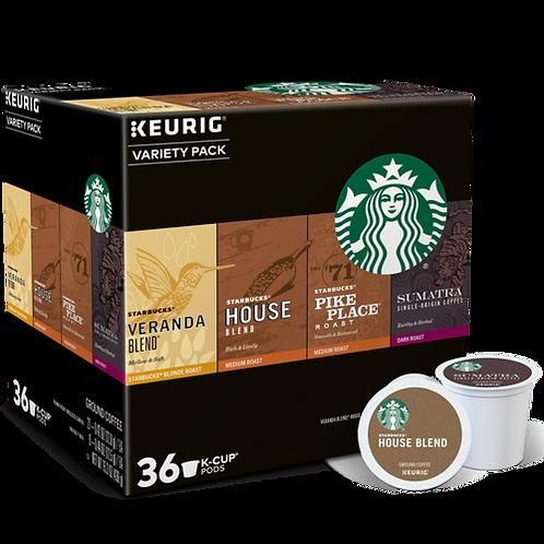 Starbucks® Starbucks® Variety Pack - K-Cup® - 36ct