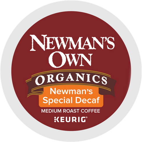 Newman's Own® Special Decaf Coffee - K-Cup® - Decaf - Med Roast - 6ct