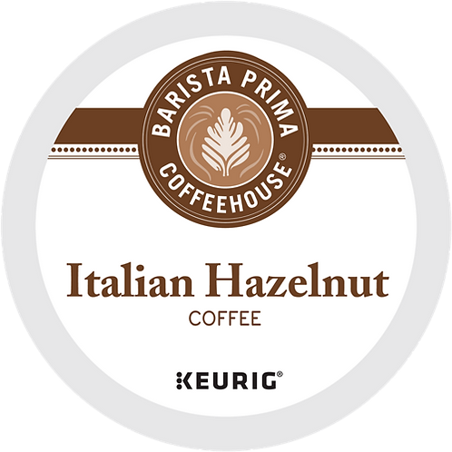 Barista Prima® Italian Hazelnut Coffee - K-Cup® - Regular - Flavored - 18ct