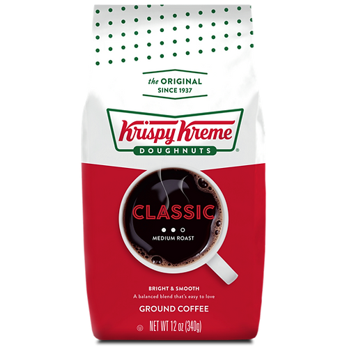 Krispy Kreme® Doughnut Classic Coffee - Bagged - Regular - 12oz Ground