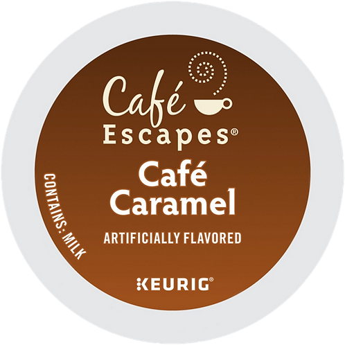 Café Escapes® Café Caramel - K-Cup® - Regular - Specialty - 24ct