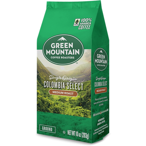 Green Mountain® Colombia Select Coffee - Bag - Regular - Med Roast - 10oz Ground