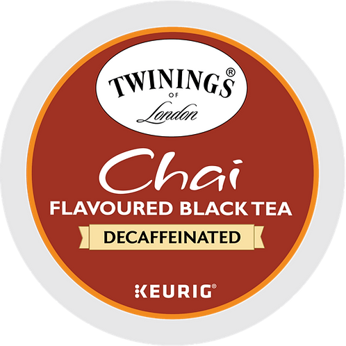 Twinings® Chai Decaf Tea - K-Cup® - Decaf - Chai - 24ct