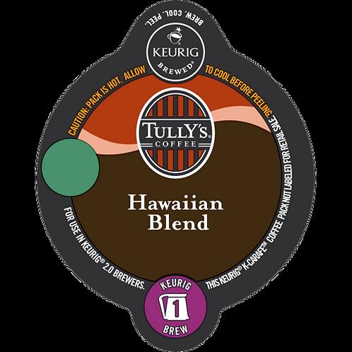 Tully's® Hawaiian Blend Coffee - K-Carafe® - Regular - Med Roast - 8ct