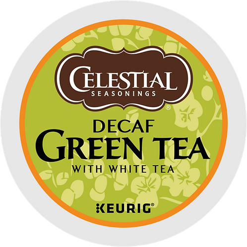 Celestial® Decaf Green Tea - K-Cup® - Decaf - Green Tea - 24ct