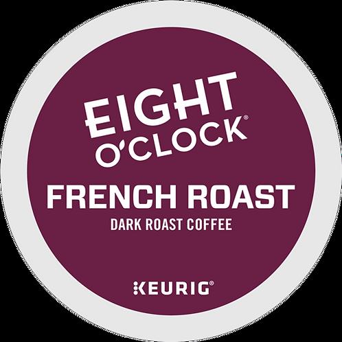 Eight O'Clock® French Roast Coffee - K-Cup® - Regular - Dark Roast - 18ct