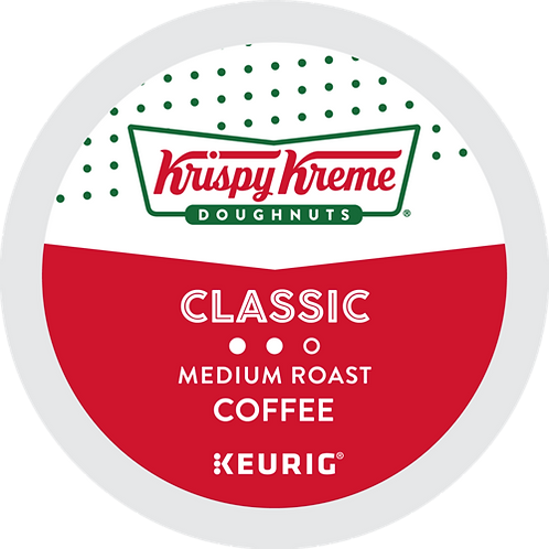 Krispy Kreme® Doughnut Classic Coffee - K-Cup® - Regular - 72ct