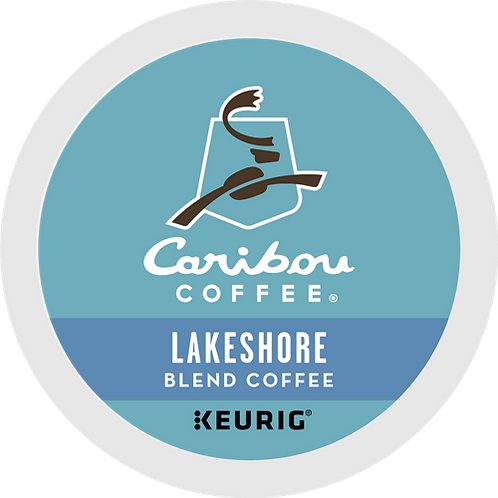 Caribou® Lakeshore Blend Coffee - K-Cup® - Regular - 24ct