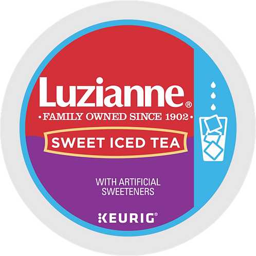Luzianne® Sweet Iced Tea - K-Cup® - Regular - Black Tea - 12ct