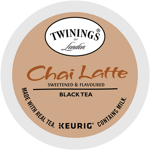 Twinings® Chai Latte - K-Cup® - Regular - 24ct