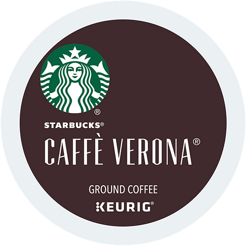 Starbucks® Caffé Verona® Coffee - K-Cup® - Regular - Dark Roast - 24ct
