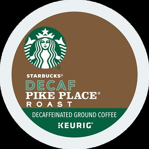 Starbucks® Decaf Pike Place® Roast Coffee - K-Cup® - Decaf - Med Roast - 24ct