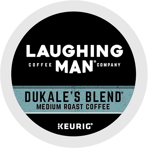 Laughing Man® Dukale's Blend® Coffee - K-Cup® - Regular - Med Roast - 16ct