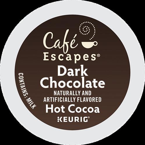 Café Escapes® Dark Chocolate Hot Cocoa - K-Cup® - 24ct