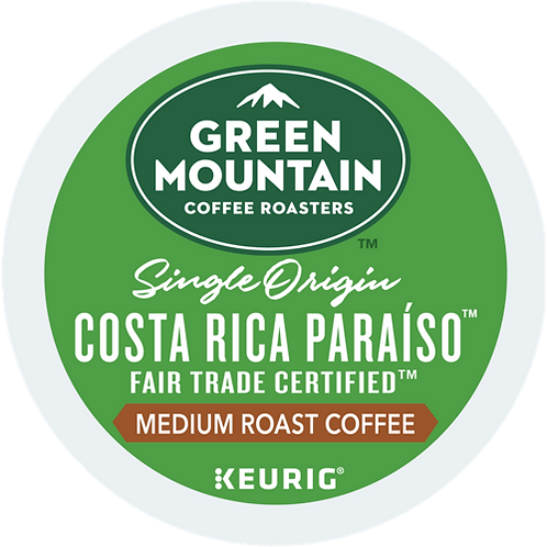 Green Mountain® Costa Rica Paraiso™ Coffee - K-Cup® - Regular - Med Roast - 24ct