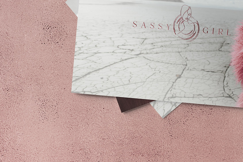 Sassy girl excusemyego branding lnd  lux