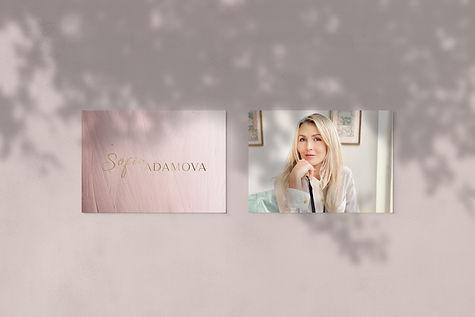 Sofia Adamova logo energy mm  pnk cards.