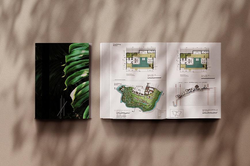 TEGALLALANG LOGO luxury brochure EXCUSEM