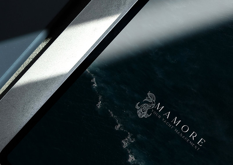 MAMORE yacht boat EXCUSEMYEGO branding l