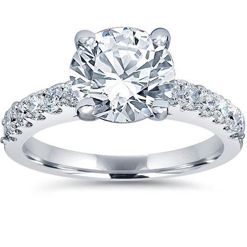 14k/2ct  White Gold Diamond Ring