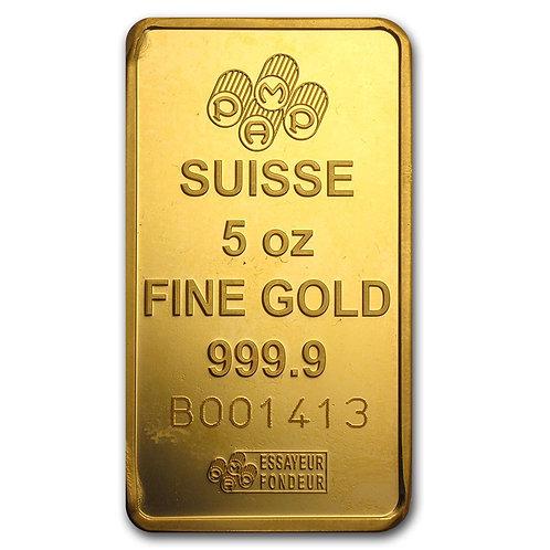 5 oz Gold Bar